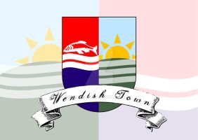 Coat of Arms Wendish Town by engineerJR