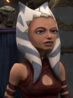 Ahsoka without facial markings by MagicalyMade