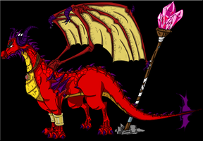 LOS: Red The Dragon by TrainerSpyro