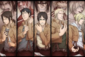 attack on titans by colemyxbox360
