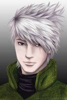 Semi-Realism: Kakashi by cynchick