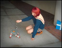 FLCL - Mamimi - You Hungry? by MidnightMist