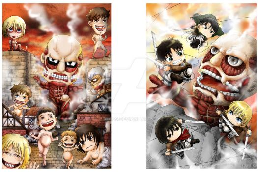 Fanime1  Attack on Titan by Zzzeus