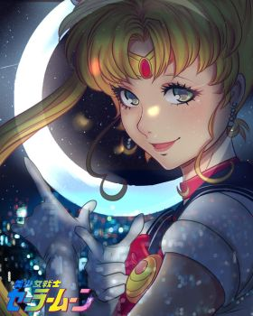 sailor moon by Invader-celes