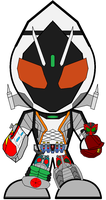 SD Kamen Rider Fourze - Legend by Zeltrax987