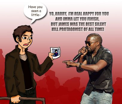 Harry gets Kanye'd by TheShopkeeper