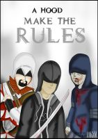 A hood make the rules! by LugaArts