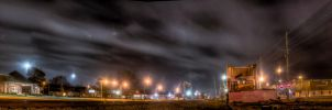 Tullahoma Tennessee Night HDR by soraxtm