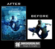Mermaid Before and After by DARSHSASALOVE