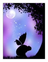 Fairy Silhouette by helly7307