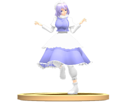MMD Trophy: Kansugi Letty by Rea-Usax