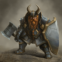 Dwarf Battle Instructor by BABAGANOOSH99