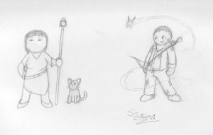 Jerry's Adventures lineup 2 by Inaaca