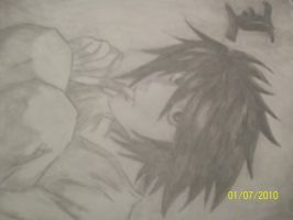 Death note L by SukerForTheCardGames