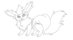 FREE Flareon Diapered Base Male by PaddedVeePaws