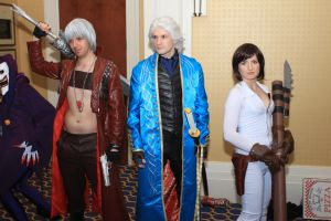 Katsucon 2014 - Devil May Cry Photoshoot 07 by VideoGameStupid