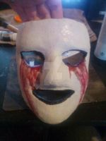 My mask for halloween :D by Bloodred-shu