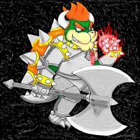 Demon Lord Bowser by Sedna93