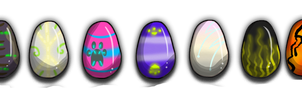 Eggs - Surprise species by AdoptsByUs