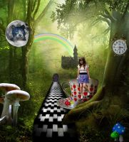 Discover Wonderland by Marianne-Art-World
