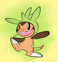 Chespin! by Wonder-Waffle
