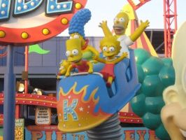 The Simpson the Ride by granturismomh