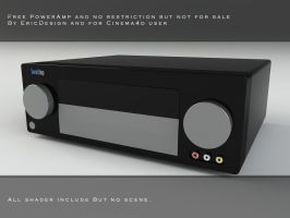 Free powerAmp cinema4d by 3DEricDesign