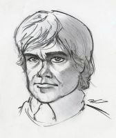 Tyrion Lannister by RobtheDoodler