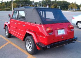 Red VW Thing 3 by Ripplin