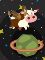 Space Cow by Patt-Ytto