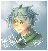 happy late birthday rod by sasuke-chan95