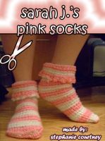 Sarah J.s Pink Socks by minishadowlove