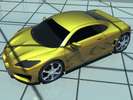 3DS Max: BMW Concept by ryan-mahendra