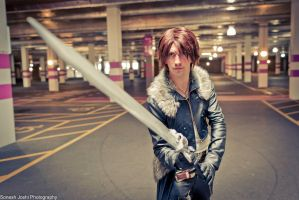 Squall Leonhart - Force Your Way by SketchMcDraw