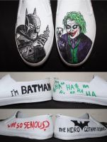 Batman Shoes by camriess