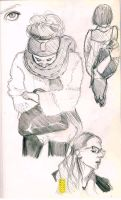 Tube sketches by Namecchan