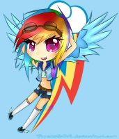 Rainbow Dash by pipskitts204