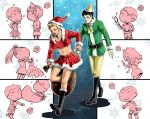 ST: Santa Claus and His Elf by CanneDeBonbon