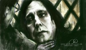 Harry and Snape - Your Mother's Eyes by ChristyTortland