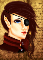 pirate elf by Darth-Sparrowhawk