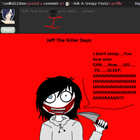 Asked Jeff the killer 2 by Ask-A-Creepy-Pasta