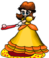 Princess Daisy Baseball (full gown) by No1Daisyfan