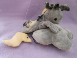 Mlp FiM:Shocked Derpy Beanie Plush by Tawny0wl