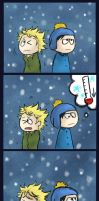 Creek : Winter by Papercut-Chika