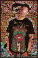 Animal Collective t-shirt by Nycksill