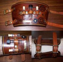 Steampunk Cuff 9 by Steampunked-Out