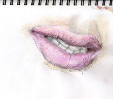 Lips study by hardcorish