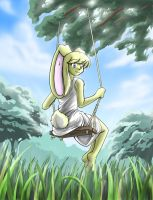 Chahiro in the Swing -Gift- by AyameExGoddess