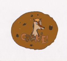 Old art: Cookie badge by HarlanWolf