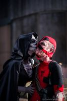 Crazy for Loving You - Deadpool and Death Cosplay by Soylent-cosplay